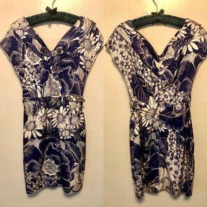 Anthropologie Yoana Baraschi Silk Floral Dress 8